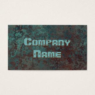 """Modelo de cartão de negócios """"de cobre"""" do"""