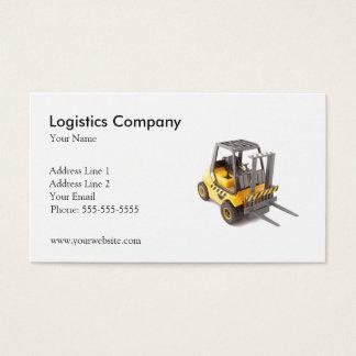 Modelo de cartão de negócios de Logística Empresa