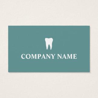 Modelo de cartão de negócios do dentista com