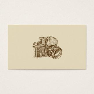 Modelo de cartão de negócios do fotógrafo do