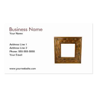 Modelo de cartão de negócios do quadro de madeira cartoes de visita