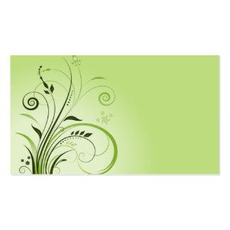 modelo de cartão de negócios do verde da natureza  modelos cartao de visita