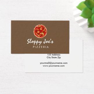 Modelo de cartão de negócios feito sob encomenda
