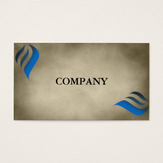 Modelo de cartão de negócios natural atrativo