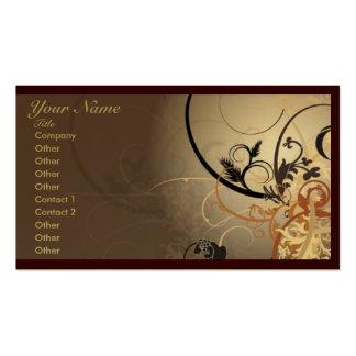 Modelo de cartão de negócios profissional abstrato cartão de visita