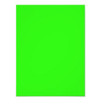 Modelo de néon brilhante do vazio da tendência da  foto