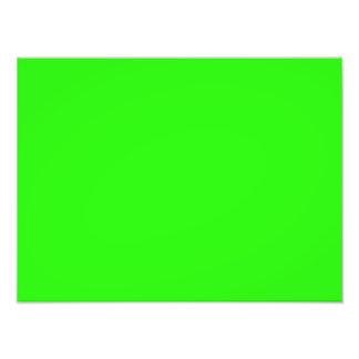 Modelo de néon brilhante do vazio da tendência da  impressão de foto
