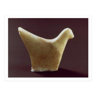 Modelo de um pássaro, Cycladic adiantado, Cartão Postal