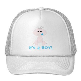 Modelo do chapéu do bebé boné