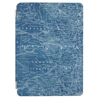 Modelo do mapa dos E.U. Capa Para iPad Air