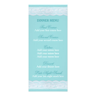 Modelo do menu do comensal de casamento do menu do 10.16 x 22.86cm panfleto