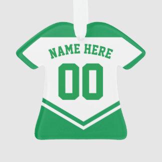 Modelo do ornamento do número do nome da camisa do