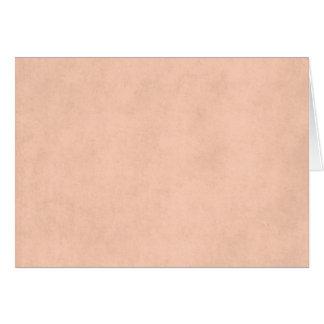 Modelo do papel da antiguidade do pergaminho do cartão de nota