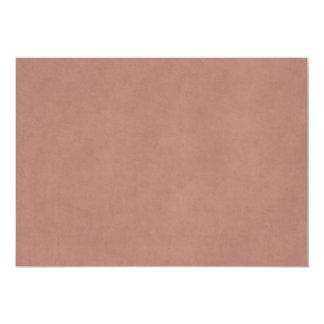 Modelo do papel da antiguidade do pergaminho do convite 12.7 x 17.78cm