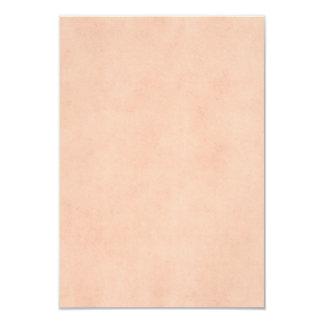 Modelo do papel da antiguidade do pergaminho do convite 8.89 x 12.7cm