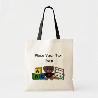 Modelo do presente do professor bolsas para compras