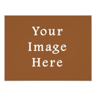 Modelo do vazio da tendência da cor de Brown do ca Impressão De Foto