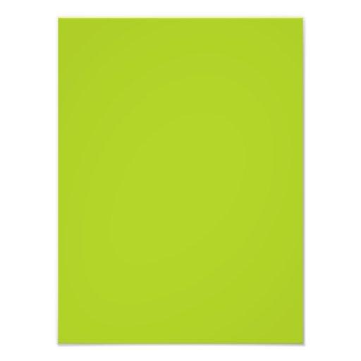 Modelo do vazio da tendência da cor de verde limão impressão de foto