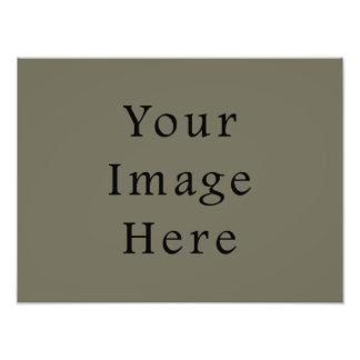 Modelo do vazio da tendência da cor verde do Taupe Impressão Fotográfica