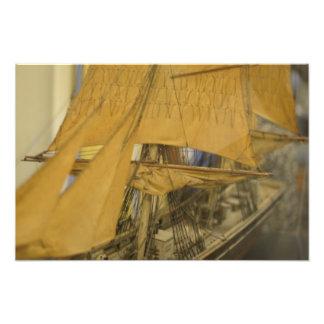 Modelo do veleiro impressão fotográfica