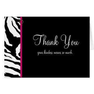 Modelo dos cartões de agradecimentos ** impressão