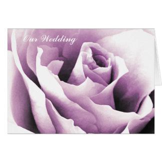 Modelo dos cartões de nota do rosa do roxo