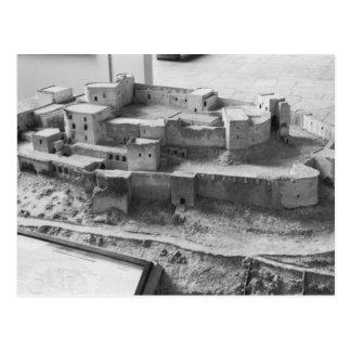 Modelo dos Chevaliers do DES de Krak, modelo Cartão Postal