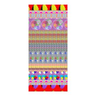 Modelo elegante decorativo DIY NVN209 dos gráficos 10.16 X 22.86cm Panfleto