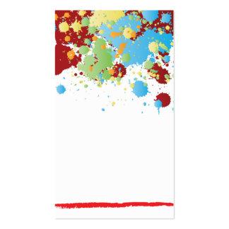 modelo elegante moderno do cartão de negócios do cartão de visita
