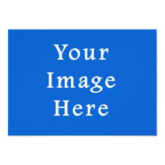 Modelo escuro do vazio da tendência da cor do azul convites personalizado