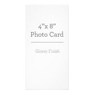 Modelo feito sob encomenda do cartão com fotos