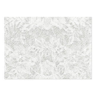Modelo - fundo branco do laço cartão de visita grande