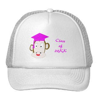 Modelo graduado do chapéu do Ela-Macaco Boné