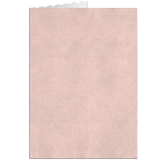 Modelo leve do papel de pergaminho do rosa cor-de- cartão comemorativo