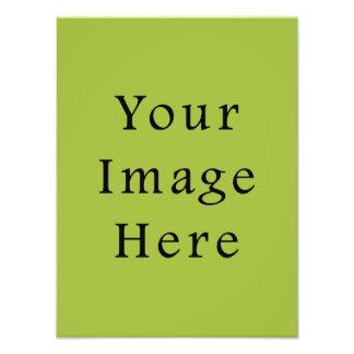 Modelo leve do vazio da tendência da cor de verde  impressão de foto