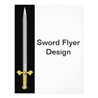 Modelo medieval Jeweled do insecto da espada Panfletos