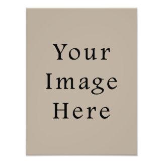 Modelo neutro do vazio da tendência da cor do Taup Fotografia