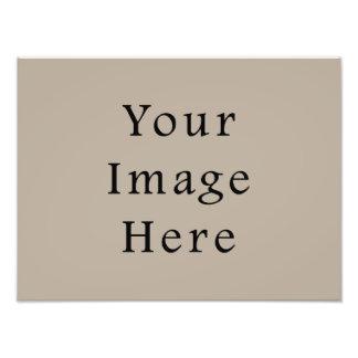 Modelo neutro do vazio da tendência da cor do Taup Impressão Fotográficas