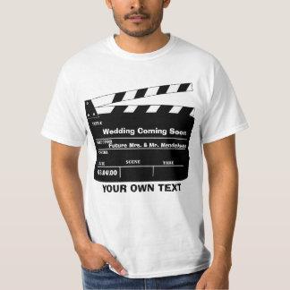 Modelo personalizado da ripa camiseta