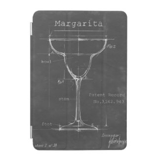 Modelo preto & branco do vidro de Margarita Capa Para iPad Mini