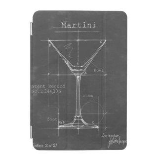 Modelo preto & branco do vidro de Martini Capa Para iPad Mini