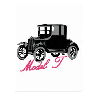 Modelo T Cartão Postal