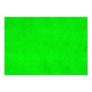 Modelo Textured do pergaminho da luz verde do Convite 8.89 X 12.7cm