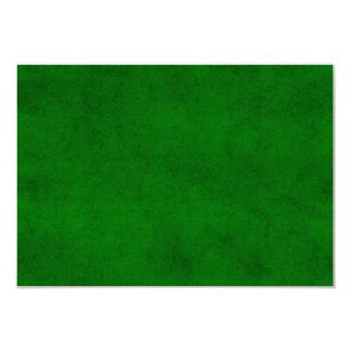 Modelo Textured escuro verde do pergaminho do Convite 8.89 X 12.7cm