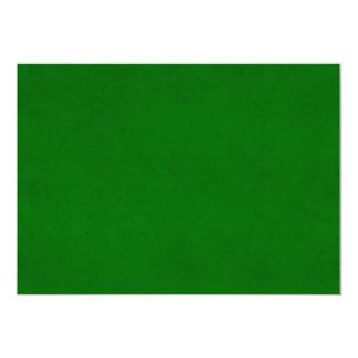 Modelo Textured verde da cor do pergaminho do Convite 12.7 X 17.78cm