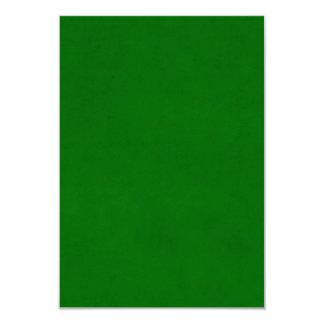 Modelo Textured verde da cor do pergaminho do Convite 8.89 X 12.7cm