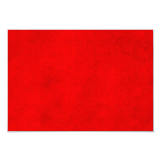 Modelo Textured vermelho da cor do pergaminho do Convite 8.89 X 12.7cm