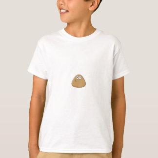 Modelo vertical do t-shirt dos miúdos -