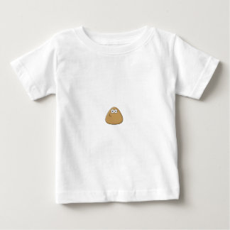 Modelo vertical do t-shirt infantil - camiseta para bebê