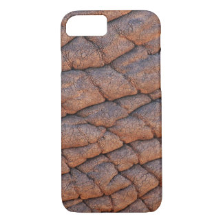 Modelo Wrinkly da textura da pele do elefante Capa iPhone 7